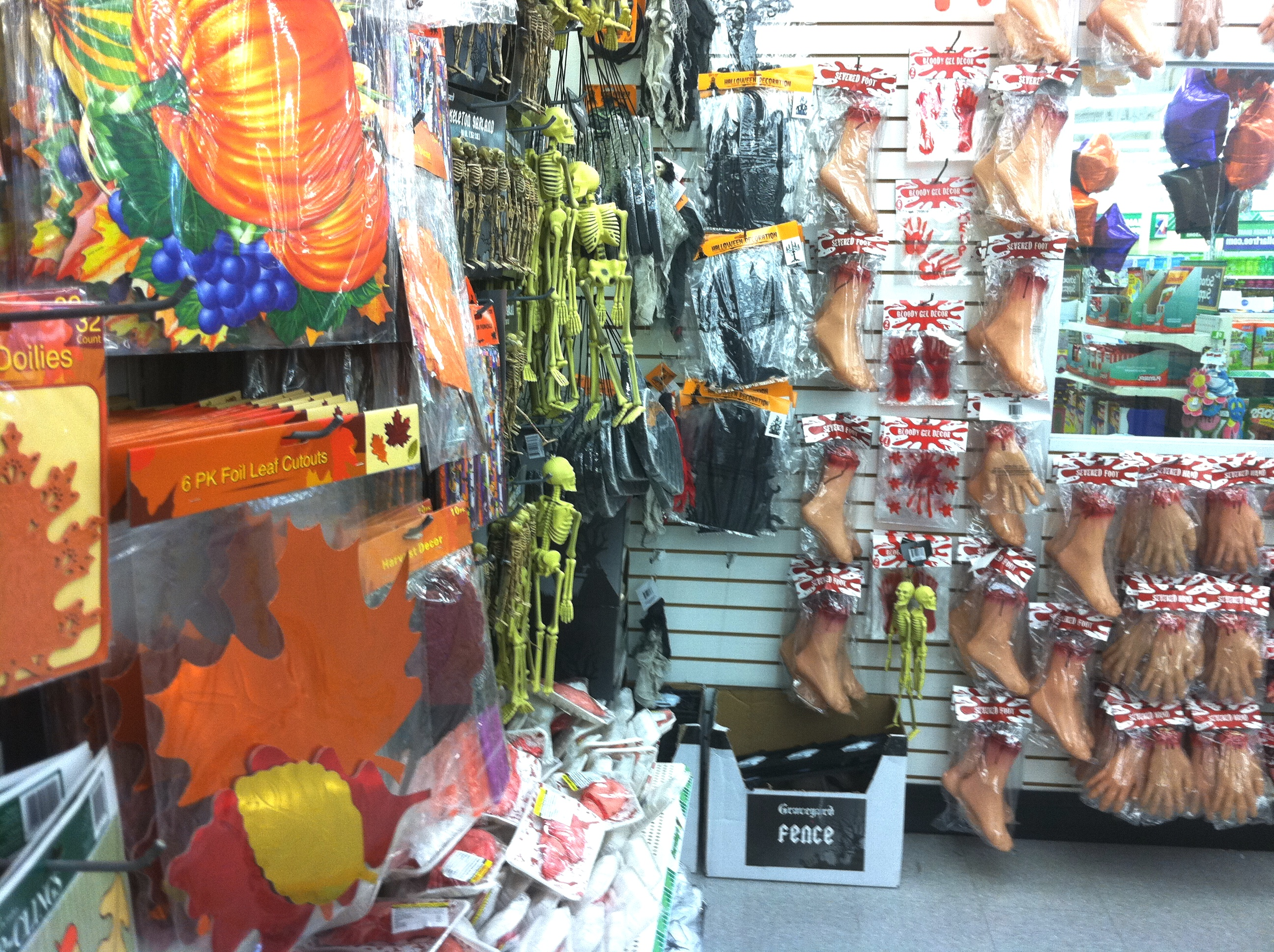 Decorating Ideas > Budget Haunting With 62 Days To Go ~ 222626_Halloween Decoration Ideas Dollar Tree