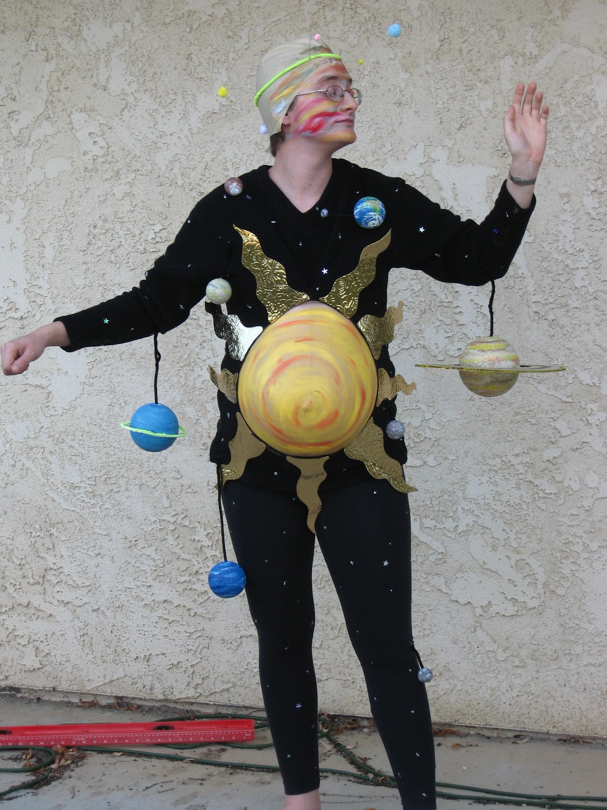 diy solar system dress - photo #13