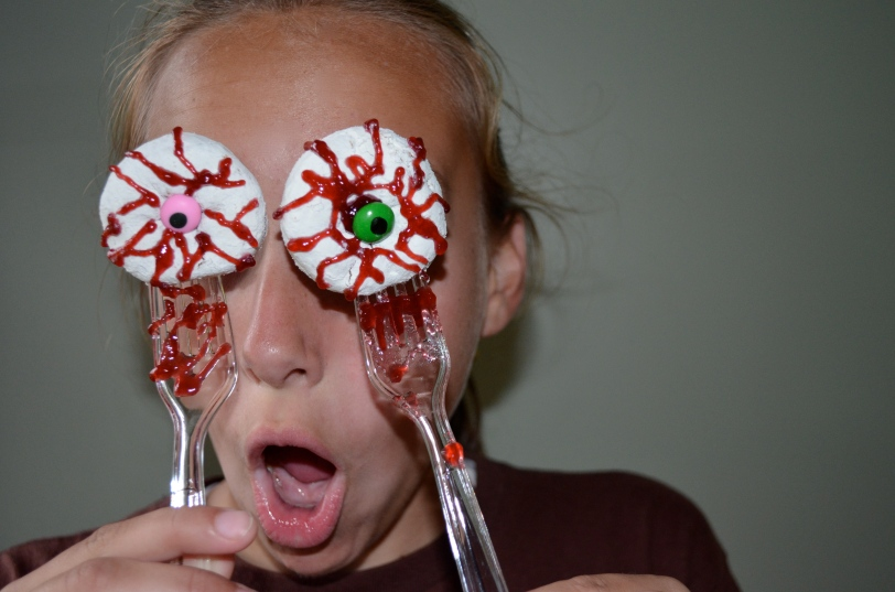 Recipe Bloody Donut Eyes ISingintheKitchen
