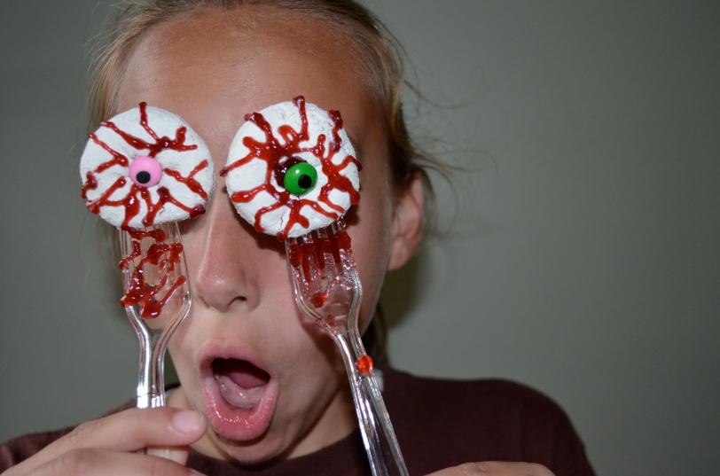 Recipe Bloody Donut Eyes ISingintheKitchen