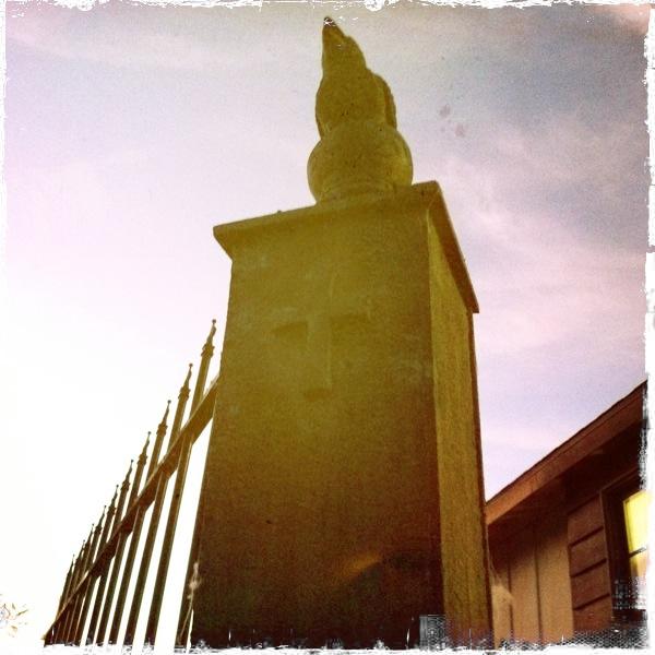 Eva Halloween Cemetery Fence