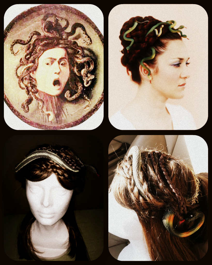 I Come To Trade My Flesh For Stone: The Face Of Medusa