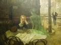 "Viktor Oliva ""The Absinthe Drinker"""