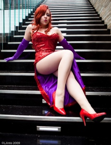 Wambampam as Real Life Jessica Rabbit taken by Anime Nut at San Diego Comic Con