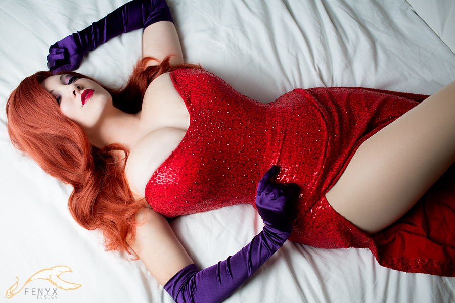 Tyoh Jessica Rabbit Cosplay