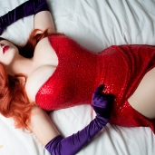AWA 2012 Jessica Rabbit Cosplay by Fenyxdesign via Deviant Art