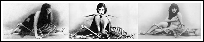Skeletons with Theda Bara