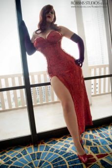 Belle Chere as Jessica Rabbit by Robbins