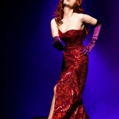 Gorgeous Jessica Rabbit redhead cosplay