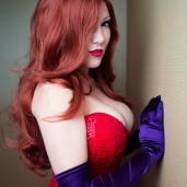 Hot as Hell Jessica Rabbit Cosplay by Fenyxdesign via Deviant Art