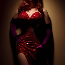 Lovely BelleChere as Real Life Jessica Rabbit via Comics Ninja