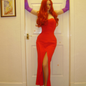 Miss Godzilla as Jessica Rabbit