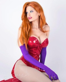 Kay Pike Cosplays as Real Like Jessica Rabbit