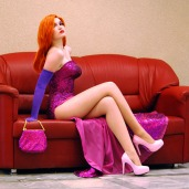 Usagi-Tsukino-krv Jessica Rabbit Real Life Cosplay