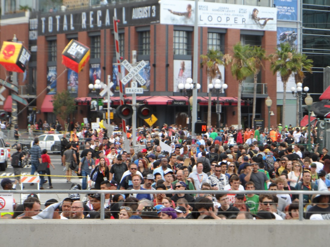Downtown San Diego Crowds Cosplay at SDCC Comic Con 2012 Photographed by Eva Halloween