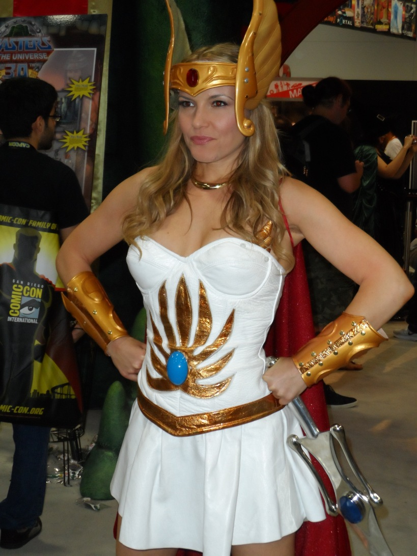 She-Ra Cosplay at 2012 SDCC Comic Con Photographed by Eva Halloween