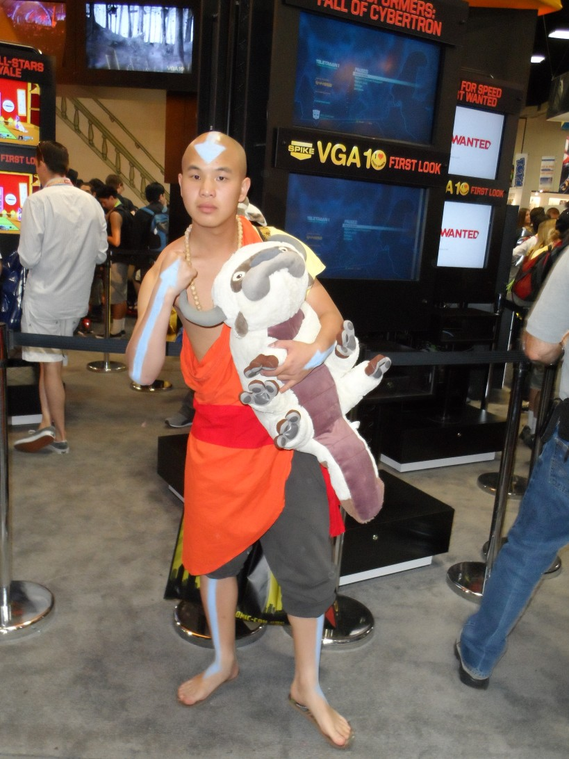 The Last Airbender Cosplay at 2012 SDCC Comic Con Photographed by Eva Halloween