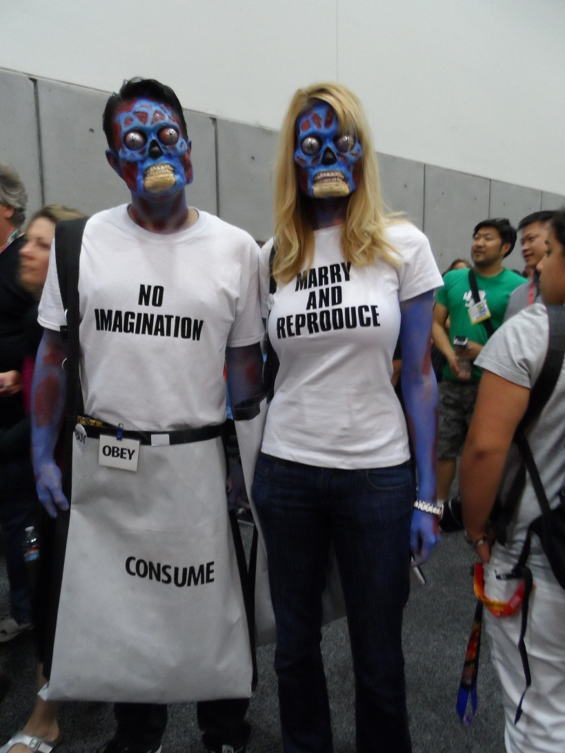 They Live Cosplay at 2012 SDCC Comic Con Photographed by Eva Halloween
