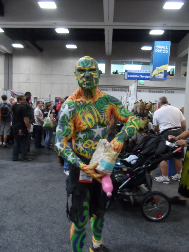 Nomad Dive Bomber visits Comic-Con!