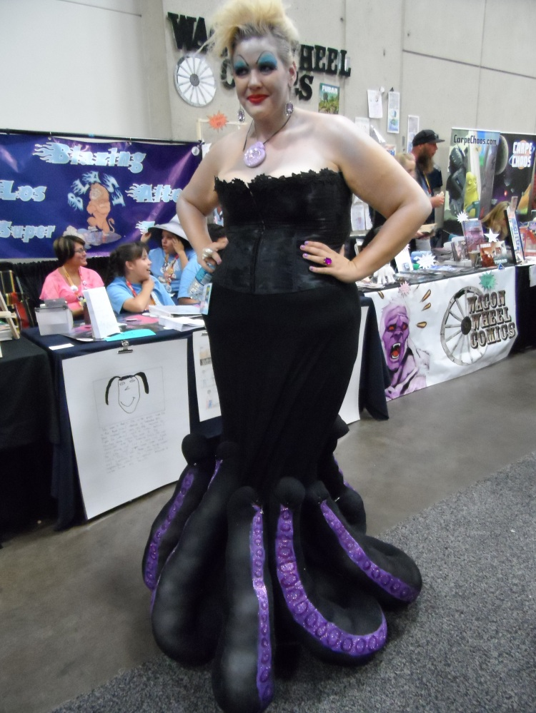 Ursula Cosplay at 2012 SDCC Comic Con Photographed by Eva Halloween