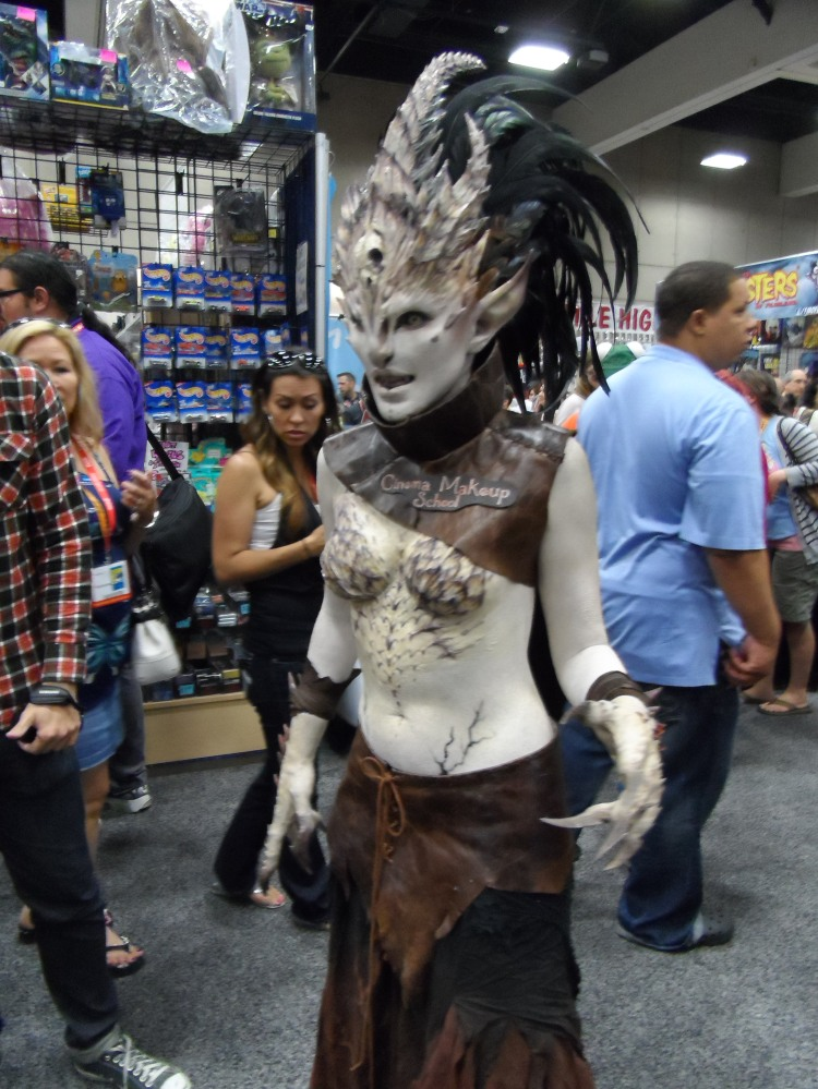 Cosplay by Cinema Makeup School at 2012 SDCC Comic Con Photographed by Eva Halloween
