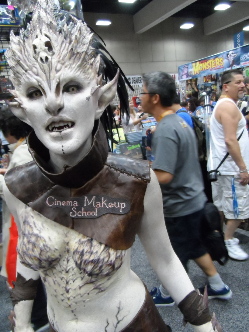 Cinema Makeup School at 2012 SDCC Comic Con Photographed by Eva Halloween