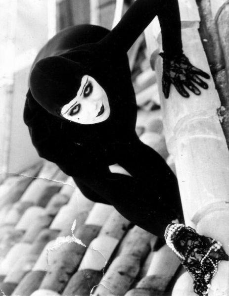 """Irma Vep in """"Les Vampires"""" - 1915"""
