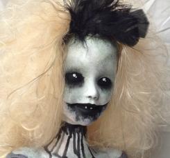 Little Ms Frightmare by fartsandcraftsroom