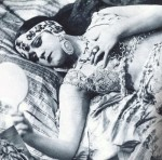 "Theda Bara as ""The Vamp"""