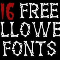 A Round-Up of Free Halloween Fonts