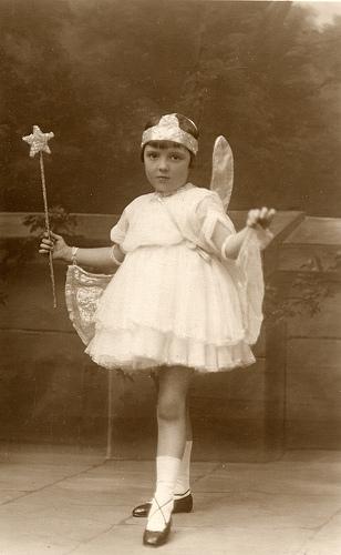 vintage fairy girl