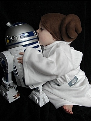Adorable Teeny Leia