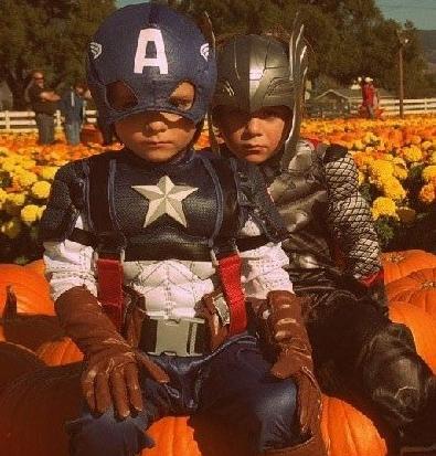 Baby Avengers - Thor & Captain America