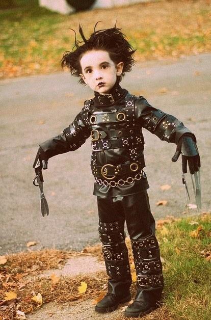 Baby Burton - Edward Scissorhands