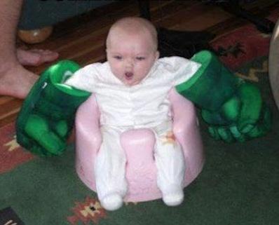 Baby Hulk Hands