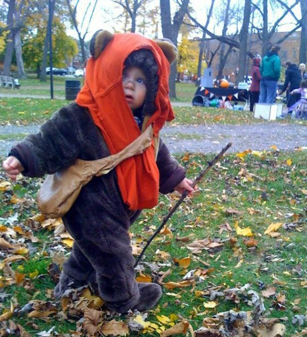 Cute Ewok Kid
