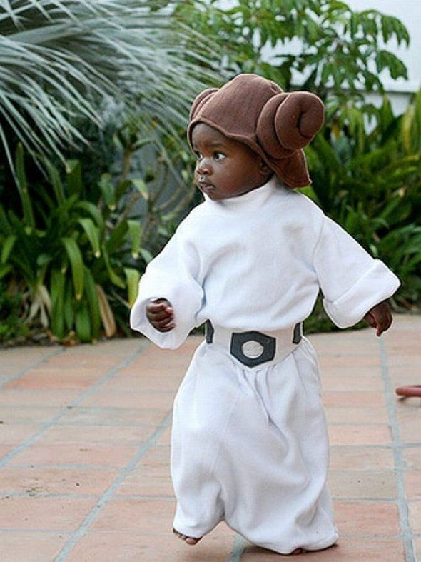 Fierce Baby Leia