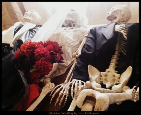 Skeleton Wedding  by Eva Halloween