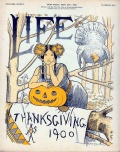 1900 Life Magazine Thanksgiving