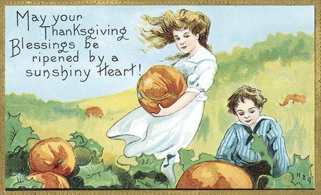 Vintage Thanksgiving Pumpkins