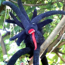 Shub-Niggurath Plush Art Doll by XmasWithKrampus on Etsy