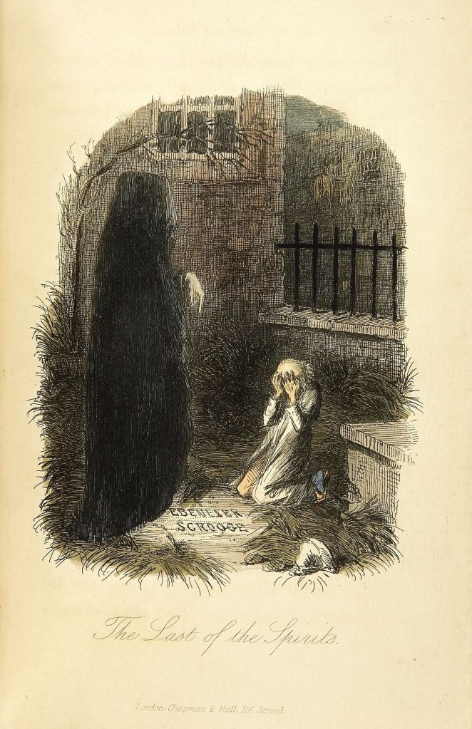Silent Sundays: The Ghost of Christmas Yet to Come (1843) – The Year of Halloween