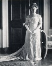"1909 Helen ""Nellie"" Taft in her inaugural gown"