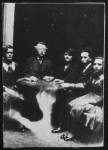 1920's William Hope Seance Photograph via Museum of the Macabre