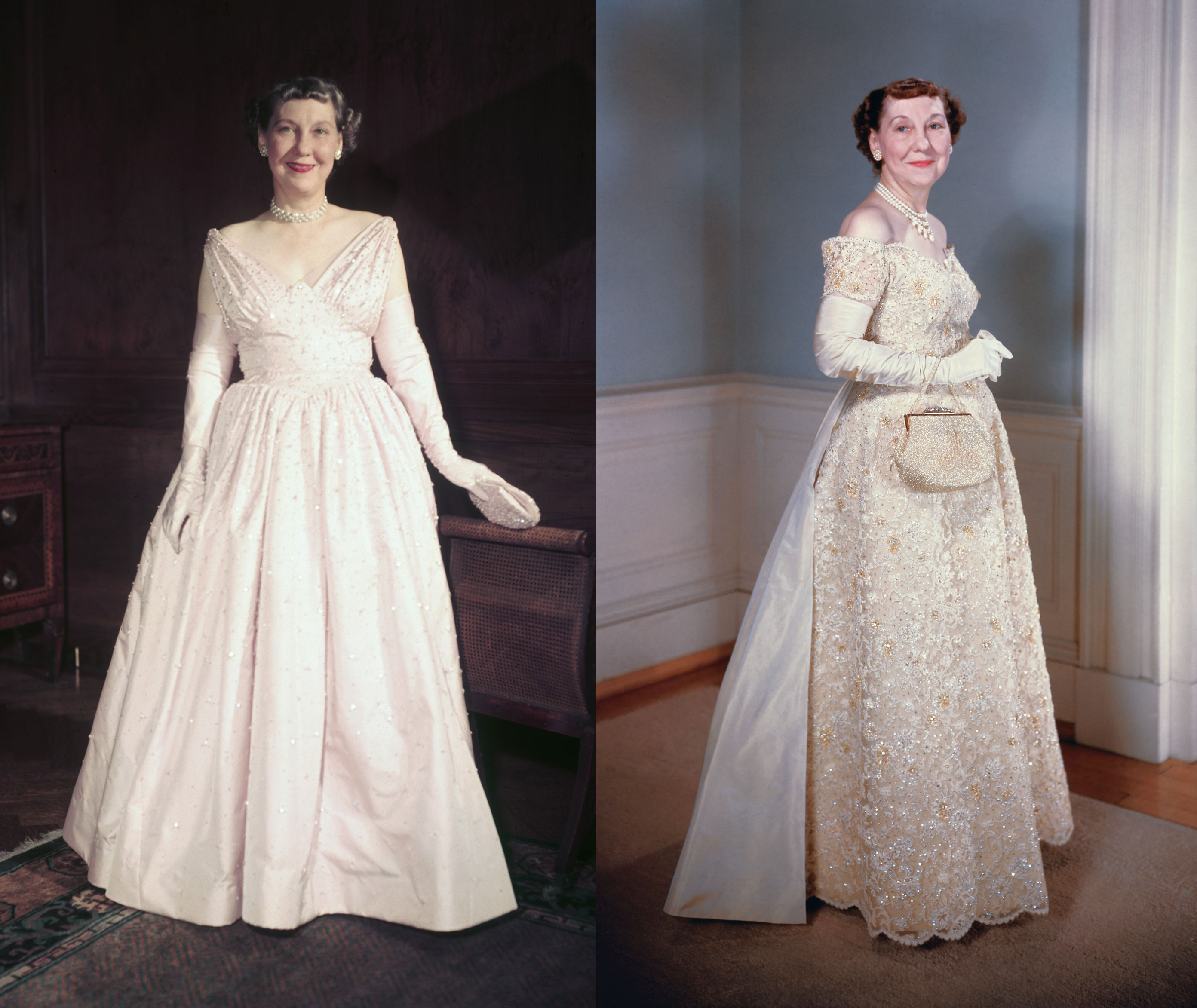 1953 And 1957 Mamie Eisenhower Gown By Eva Rosencrans