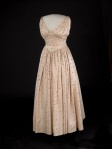 1953 Mamie Eisenhower's Inaugural Gown