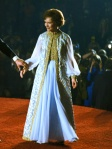 1977 Rosalynn Carter in Inaugural Gown