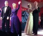 1993 (Sarah Philips) and 1997 (Oscar de la Renta) Hillary Clinton