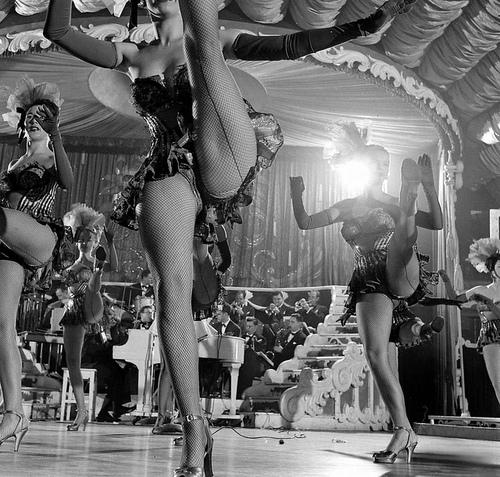 Chorus Girls at the Latin Quarter, 1949 - New York, New York