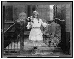 circa 1905 double exposure spirit photograph via Library of Congress